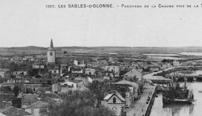La Chaume au début du XXe siècle.