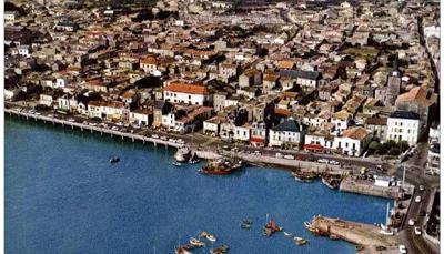 La Chaume dans les années 1960 et sa conserverie Maredlo.